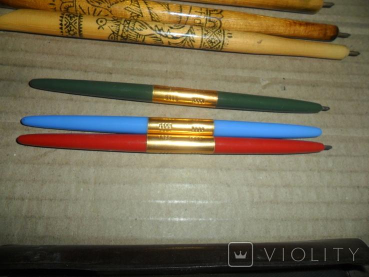 Ручки дерево 3 шт + пластик 3 шт., фото №4