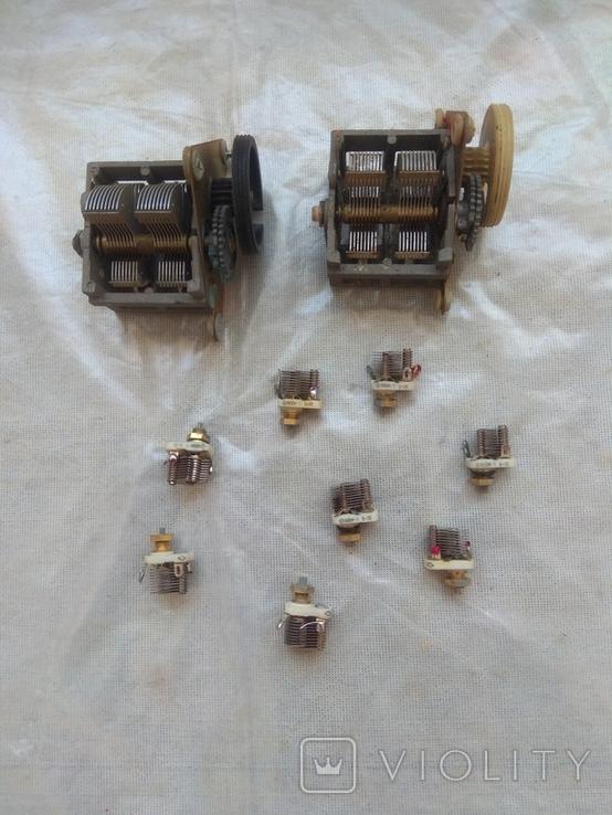 Конденсаторы переменной ёмкости, фото №2