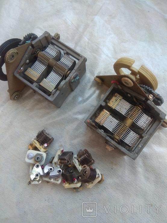 Конденсаторы переменной ёмкости, фото №3