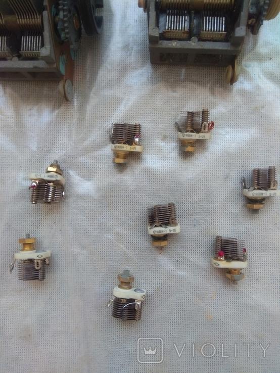 Конденсаторы переменной ёмкости, фото №4