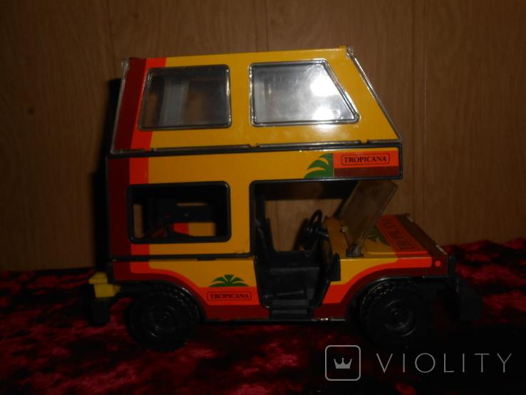 Машинка. Джип тропикана., фото №6