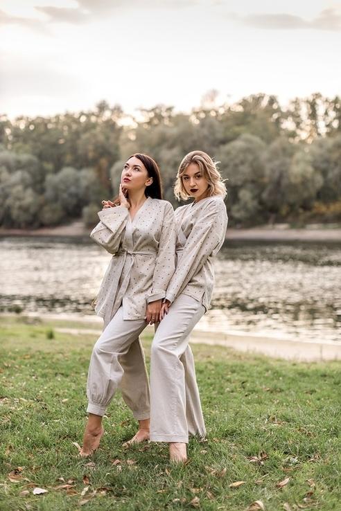 Жіноча оригінально красива піжама NATURAL, фото №2