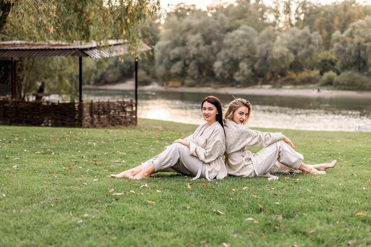Жіноча оригінально красива піжама NATURAL, фото №4