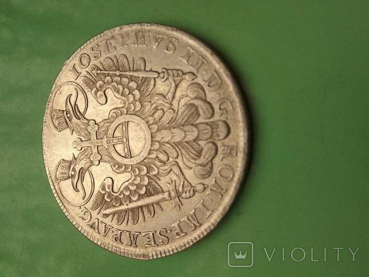 Талер Нюренберг 1768г., фото №5
