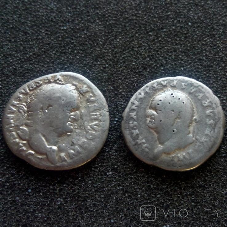 2 динария Веспасиана, фото №2