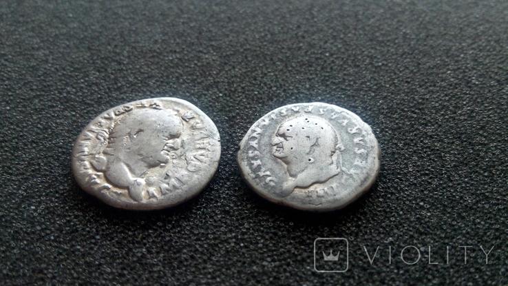 2 динария Веспасиана, фото №3