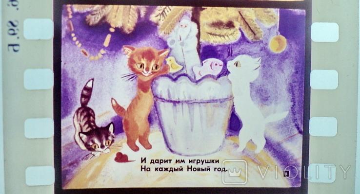 Касьянка,Том и Плут  диафильм, фото №5