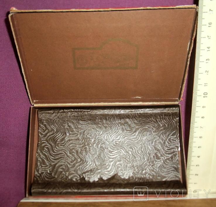 Коробка шоколад НАША МАРКА фабрика Красный Октябрь Москва ГОСТ 1953г., фото №11
