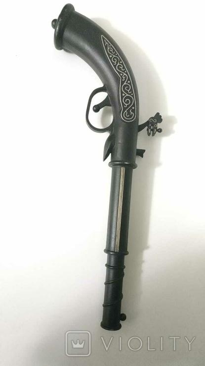 Дуэльный пистолет. (Сувенир СССР Макет пистолета XVIII в СССР, фото №3