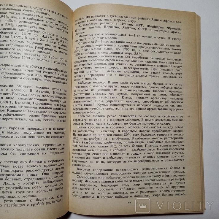 1988 Книга о молоке, молоко переработка, технология и рецепты, фото №9