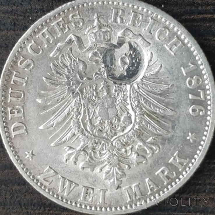 3 марки Гамбург,1876 г., фото №3