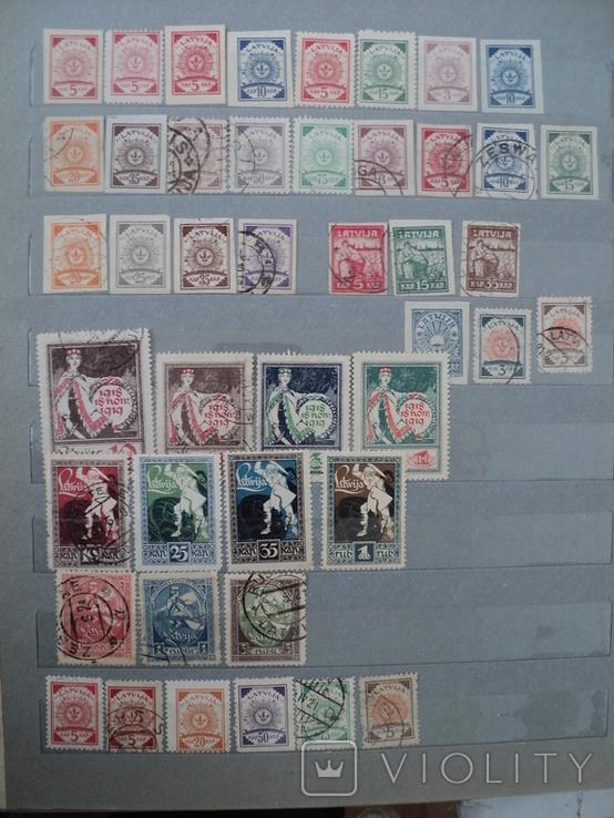 Латвия марки, фото №2
