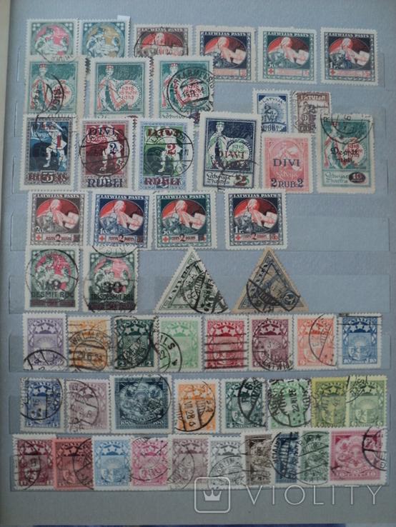 Латвия марки, фото №3