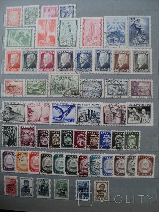 Латвия марки, фото №6