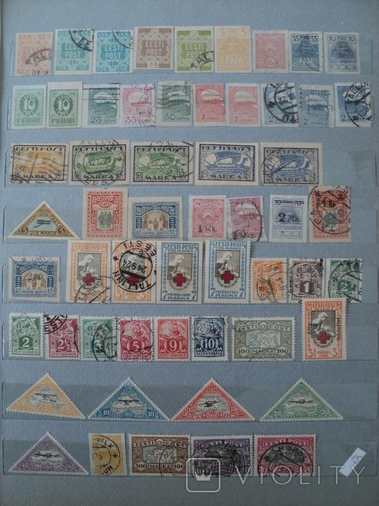 Эстония марки, фото №2