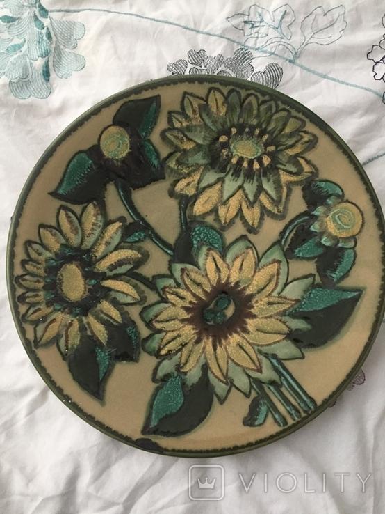 Настенная тарелка ЛКСФ 36 см