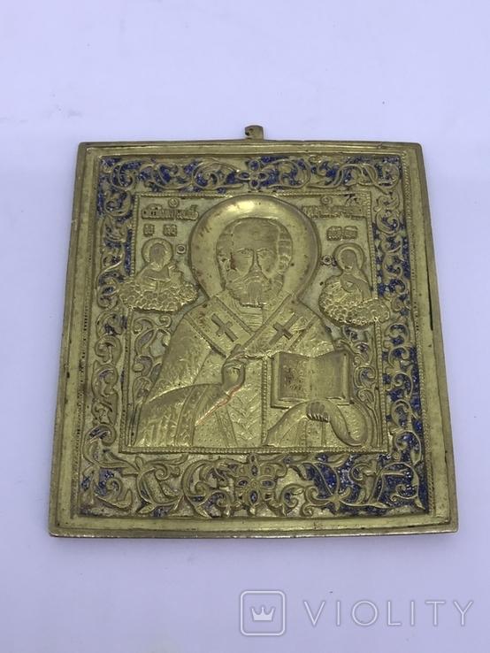 Икона Святой Николай Мажайский, фото №4