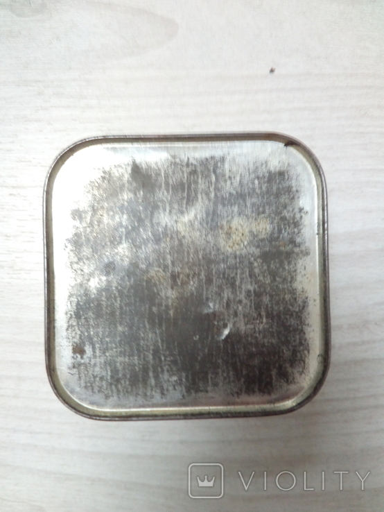 Коробка жестяная Зубной порошок, фото №3
