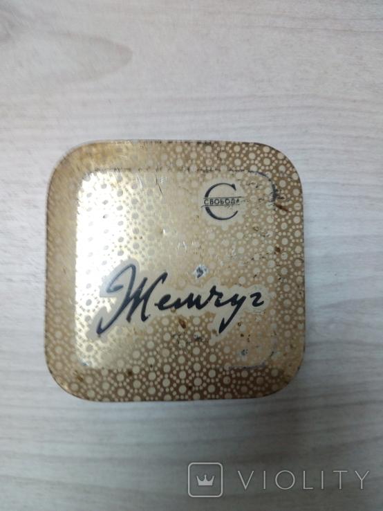 Коробка жестяная Зубной порошок Жемчуг, фото №2