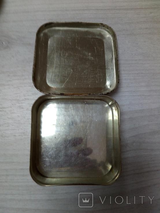 Коробка жестяная Зубной порошок Жемчуг, фото №4