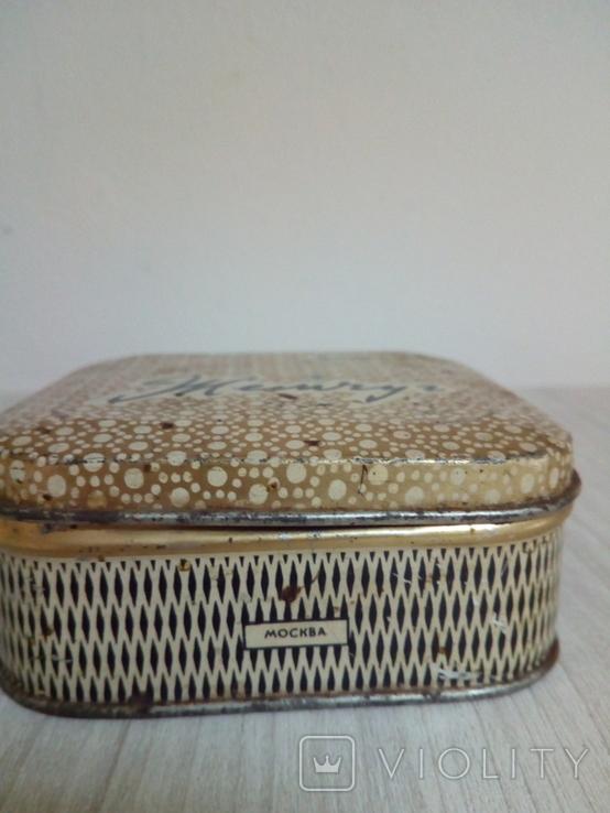 Коробка жестяная Зубной порошок Жемчуг, фото №5
