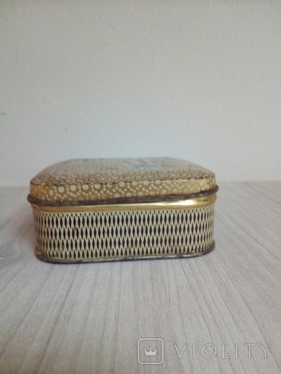 Коробка жестяная Зубной порошок Жемчуг, фото №6