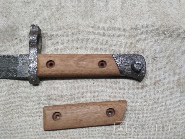 Накладки на штык нож Манлихер М88 копия, фото №2