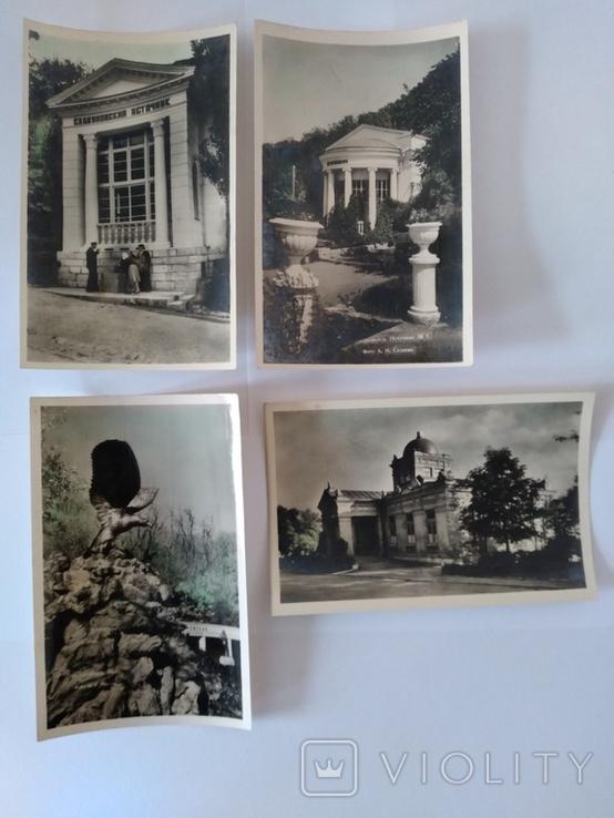 Железноводск, 4 поштові відкритки, 1958 рік., фото №2
