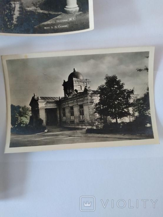 Железноводск, 4 поштові відкритки, 1958 рік., фото №6