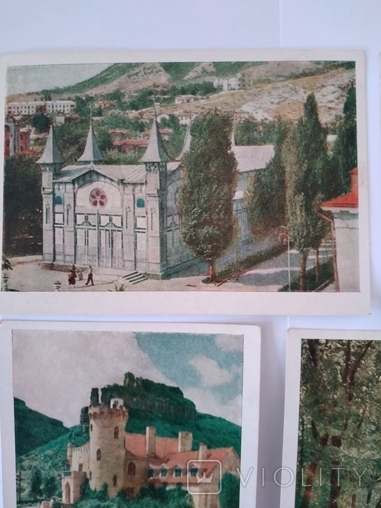 Поштові листівки - кольорові, 4 шт., фото №3