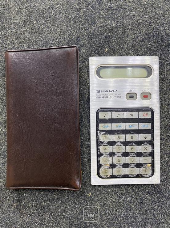Калькулятор Sharp (Japan), фото №2