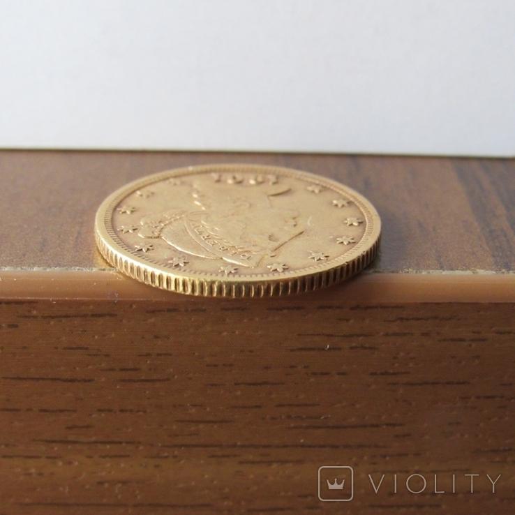 5 долларов 1901 г. США, фото №8