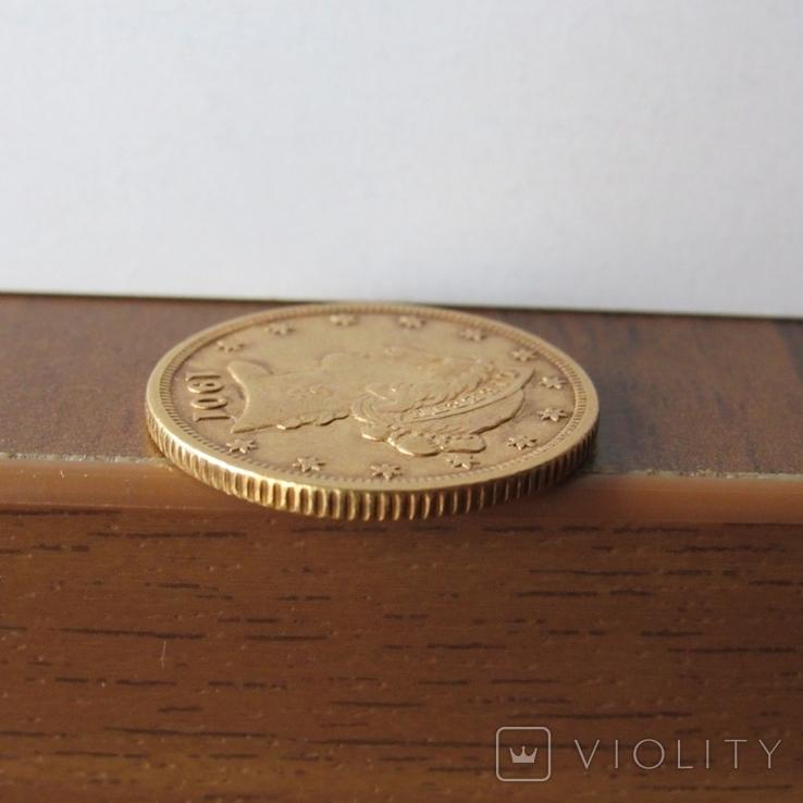 5 долларов 1901 г. США, фото №11