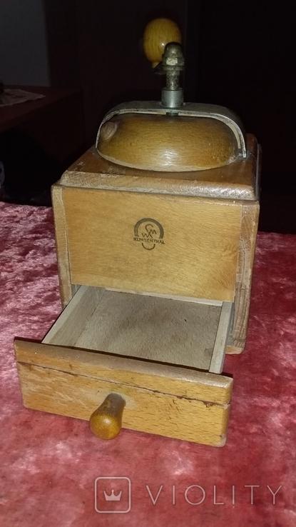 Кофемолка  винтажная KLINGENTHAL, фото №5