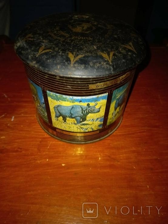 Банка из под индийского чая. Из 90-хх.  В коллекцию., фото №5