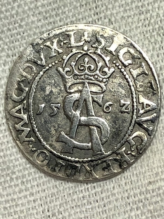 3 гроша 1562 года R-2