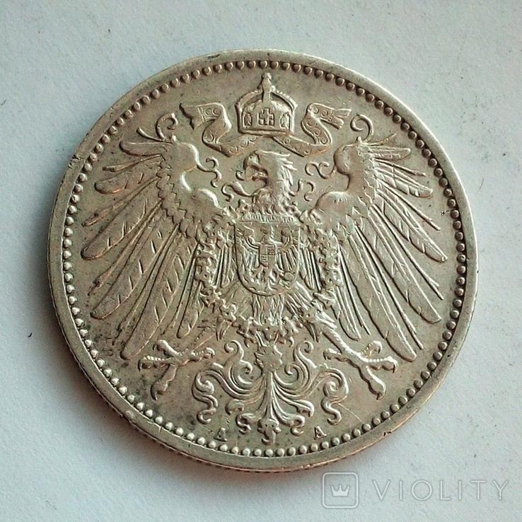 Германия 1 марка 1911 г. ( А ), фото №3