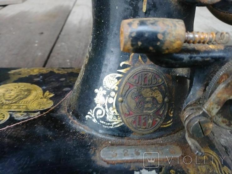 Швейная машинка старая., фото №3