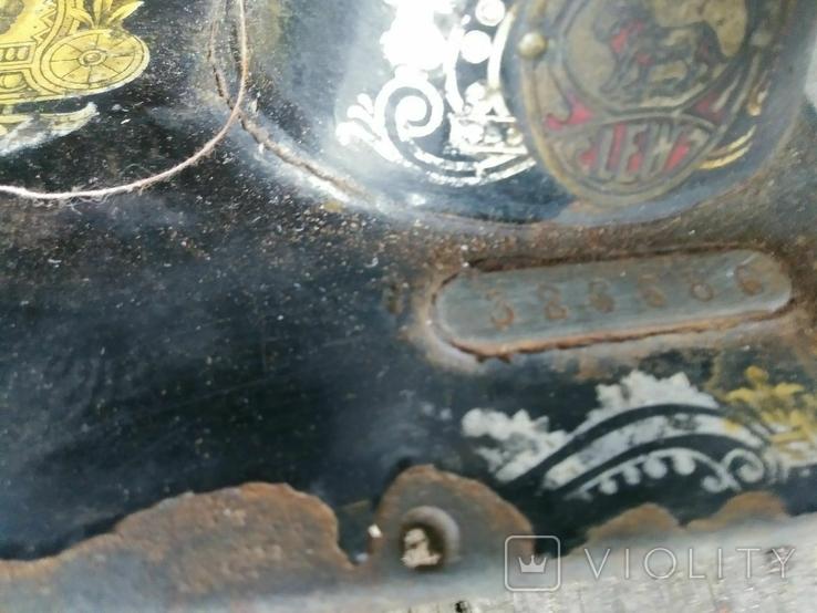 Швейная машинка старая., фото №5