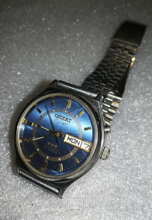 Часы Orient Crystal механизм S2427