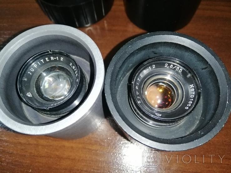 Объектив Юпитер 12 f2.8 35mm, фото №3