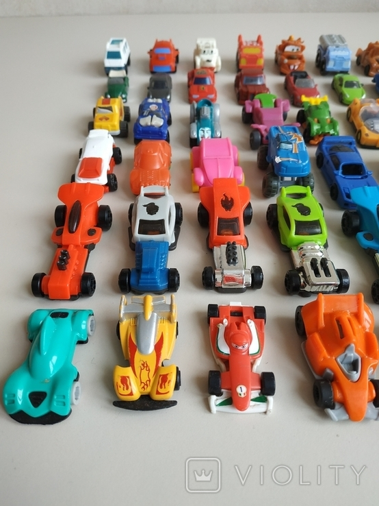 Киндеры Машинки  - 60 шт., фото №10