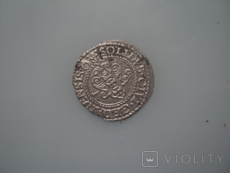 Солид Стефана Батория 1579 г, фото №3