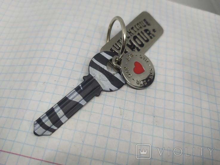 Брелок Ключик от Сердца и подвески. Новый, фото №6
