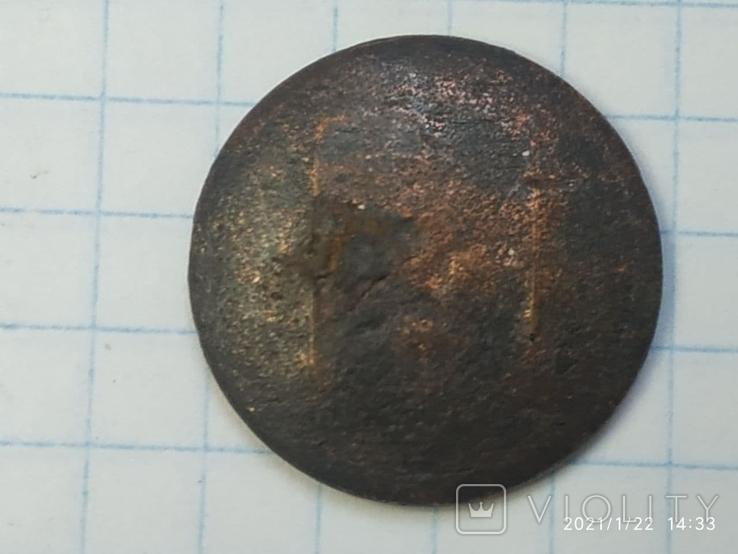 Пуговица РИ в позолоте, фото №7