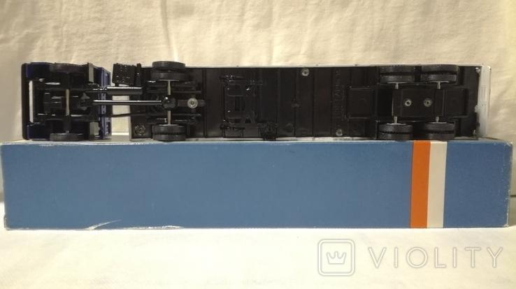 Тягач, Грузовик Lion Car 1/50 Scale No.36 - DAF Truck Trailer - Blue Band, Holland (2), фото №5