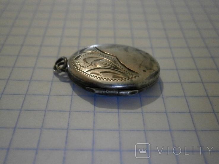 Кулон для фото Серебро, фото №5