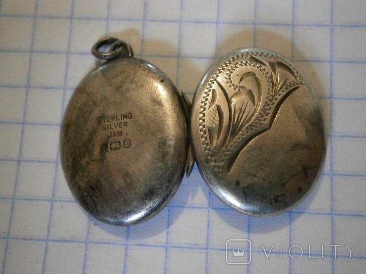 Кулон для фото Серебро, фото №9