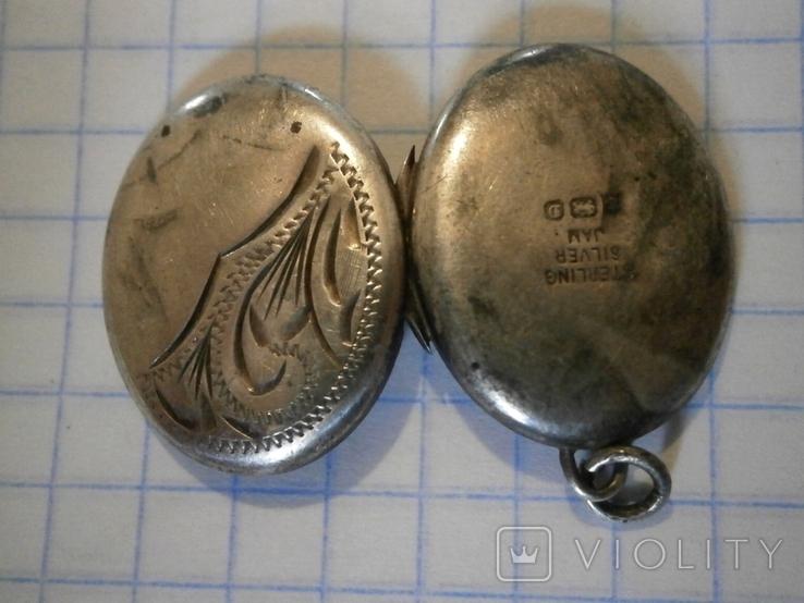 Кулон для фото Серебро, фото №10