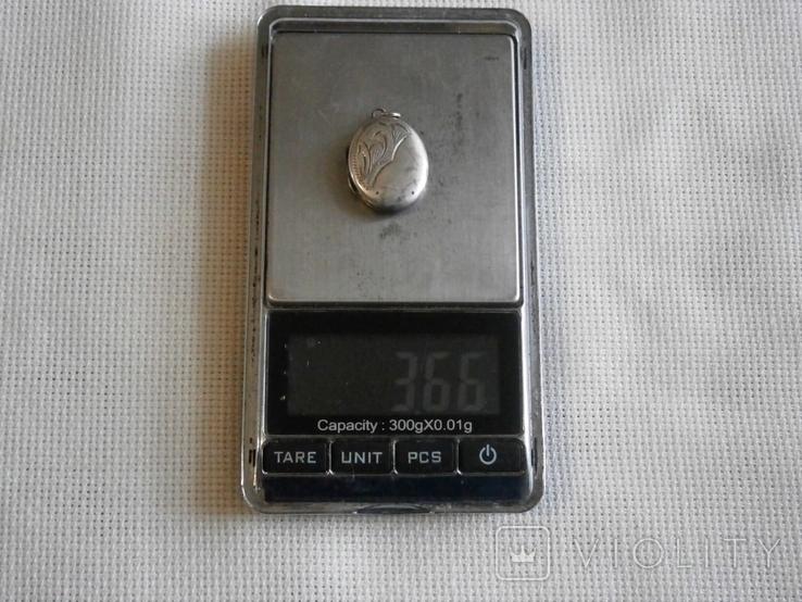 Кулон для фото Серебро, фото №11